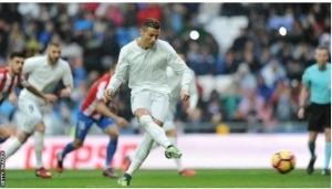 La Liga!! Ronaldo Scores Twice As Real Madrid Beat Sporting Gijon 2-1 To Go Seven-Points Clear At The Top!!